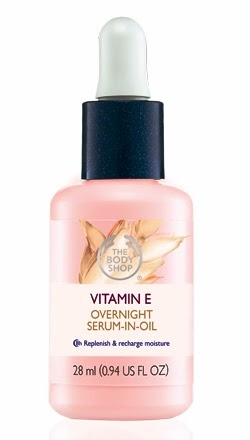 Vitamin E Overnight Serum In Oil, the body shop, skincare, beauty