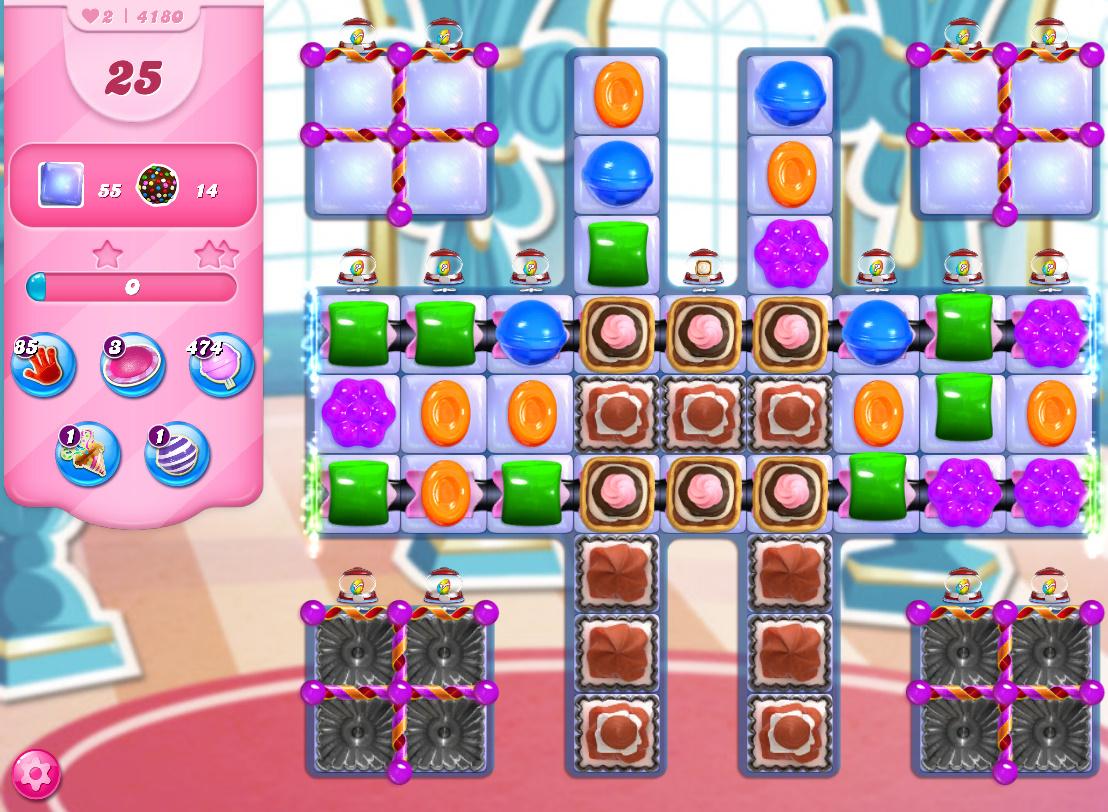 Candy Crush Saga level 4180