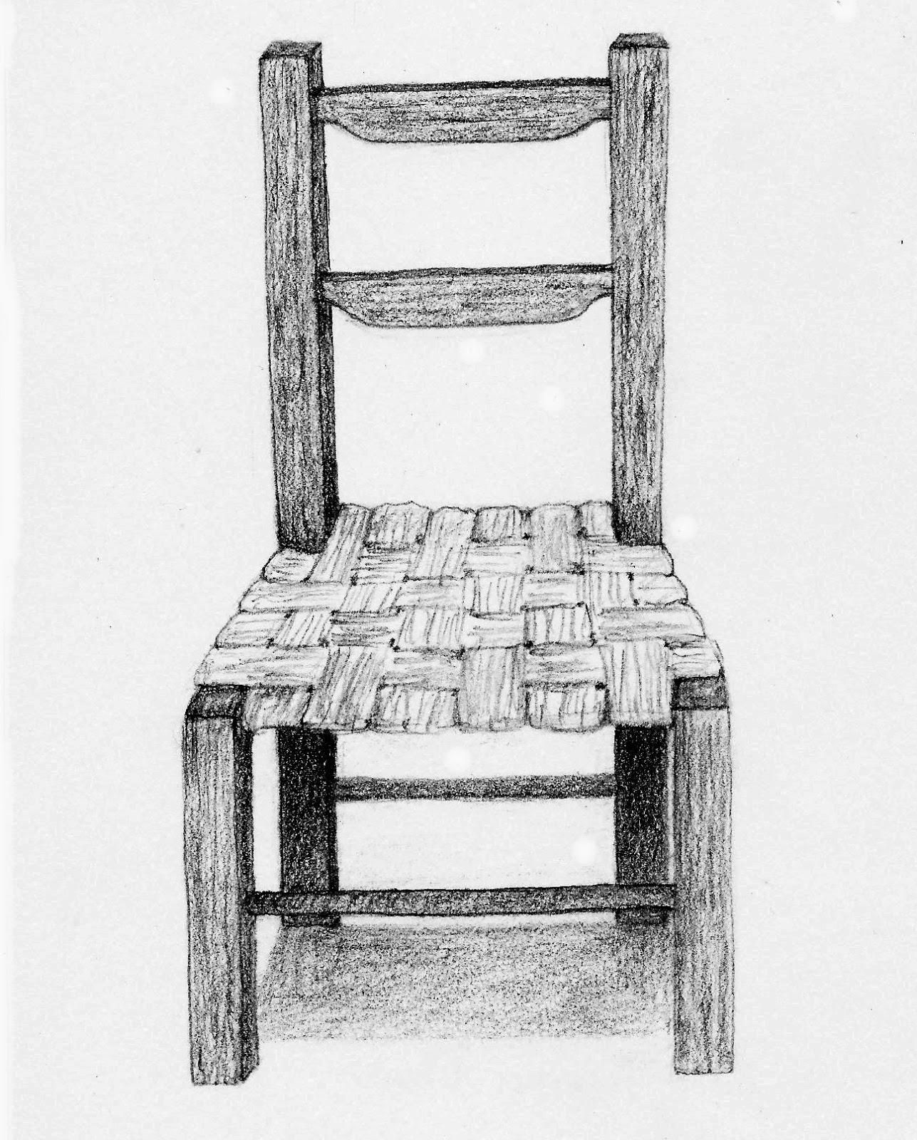 Pencil Sketch  Chair