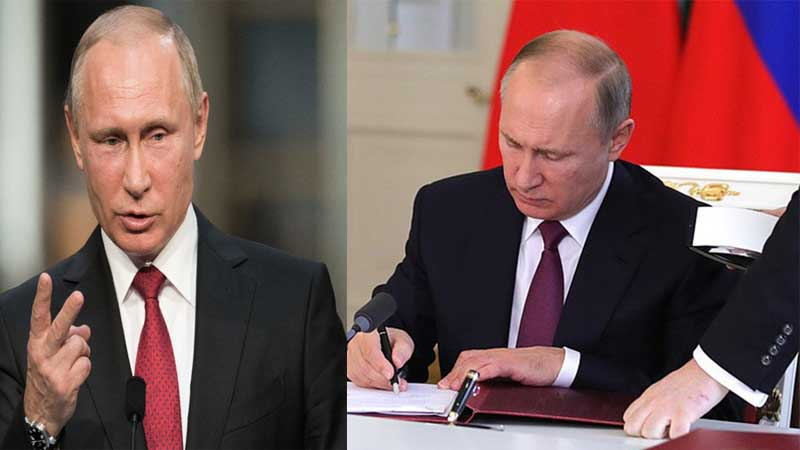 Putin signs the law that will allow him to remain in power until 2036