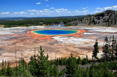 Kaldera Yellowstone