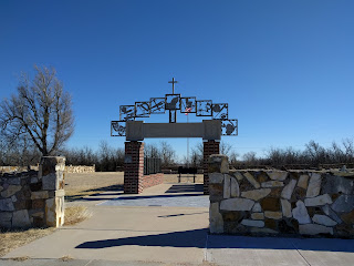 site of Catholic school in Windthorst, Kansas