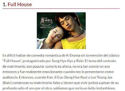 """5 Series coreanas de """"comedia romántica"""" que te harán volver a creer en el amor."""