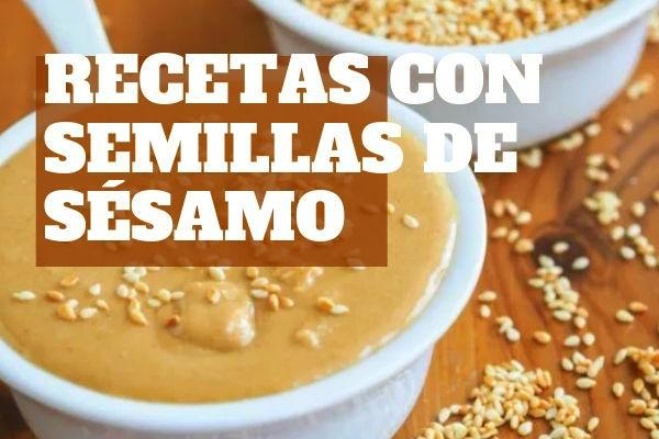 14 Recetas con semillas de sésamo como el tahín o manteca de sémao