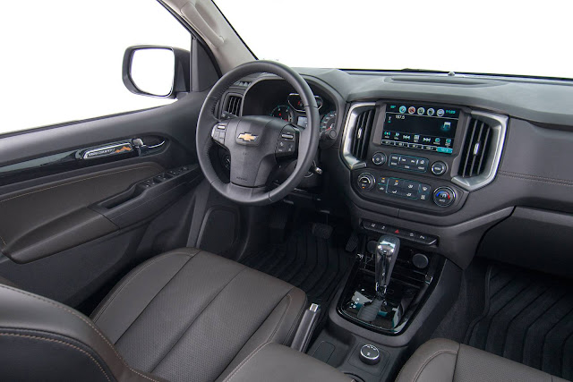 Novo Chevrolet S-10 - interior