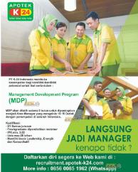 Dibutuhkan Management Development Program di PT K-24 Indonesia