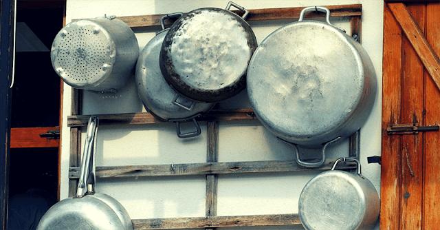 метални съдове за готвене