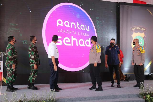 Anies Luncurkan Aplikasi Jakarta Utara SEHAD