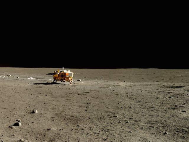 moon landing color - photo #33