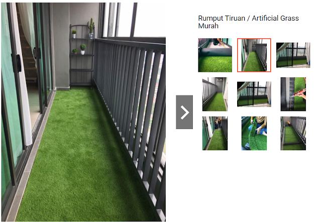 Artificial Glass Carpet