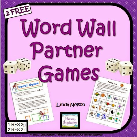 http://primaryinspiration.blogspot.com/2012/05/word-wall-partner-games-freebie.html