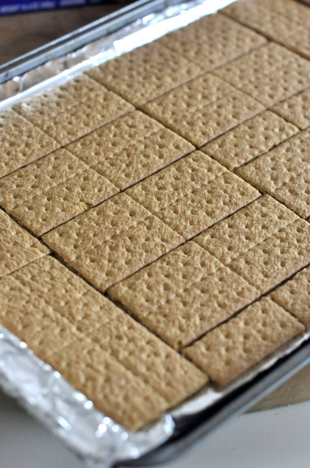 Tray of Graham Crackers | Taste As You Go