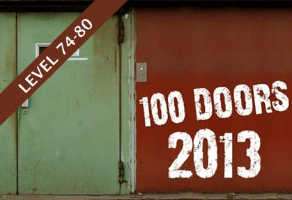 100 Doors 2013 Walkthrough Level 74 80