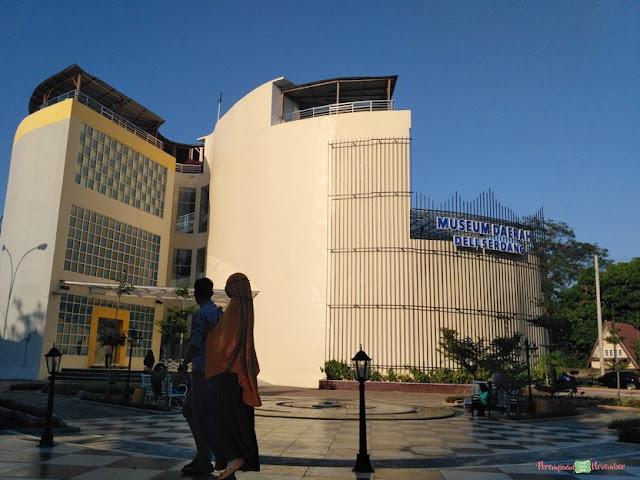 taman cantik museum daerah deli serdang