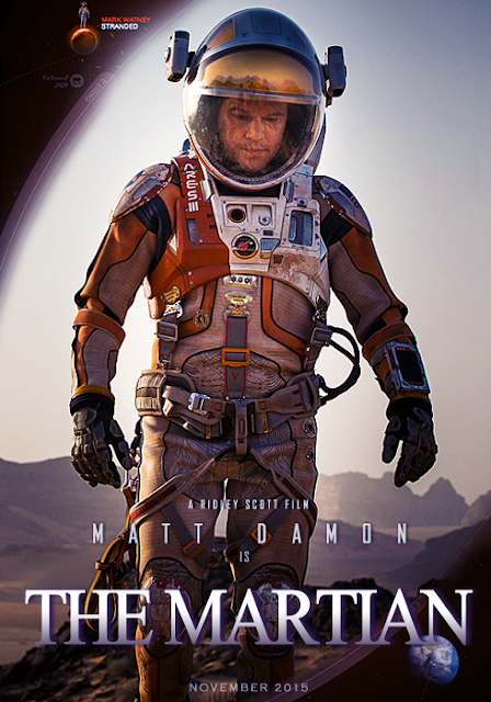 Teaser Poster The Martian