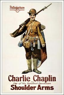 Portada película Chaplin - Armas al hombro
