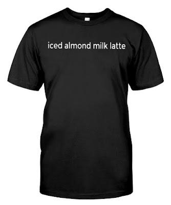 Emma Chamberlain MERCH iced almond milk latte T SHIRT HOODIE UK OFFICIAL STORE HOODIES. GET IT HERE