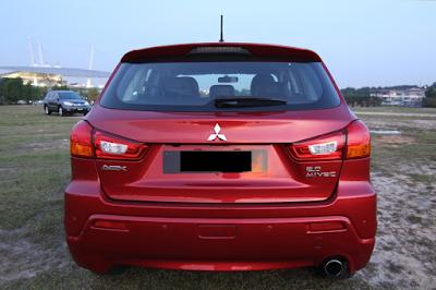Eksterior Mitsubishi Outlander Sport Prefacelift