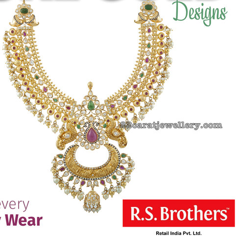 Chandbali Style Necklace from RS Brothers
