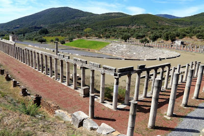 Στέγαστρο Γυμνασίου στην Αρχαία Μεσσήνη