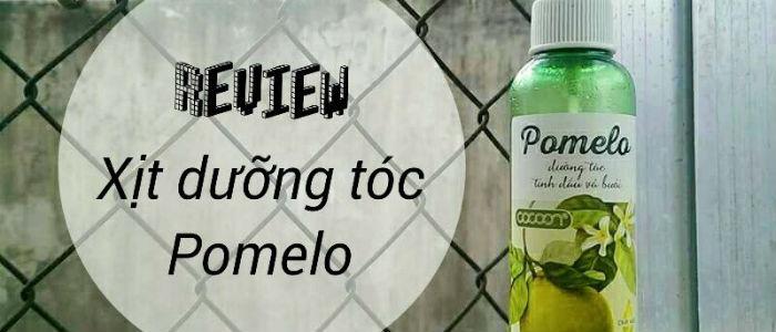 Tinh dầu bưởi Pomelo review