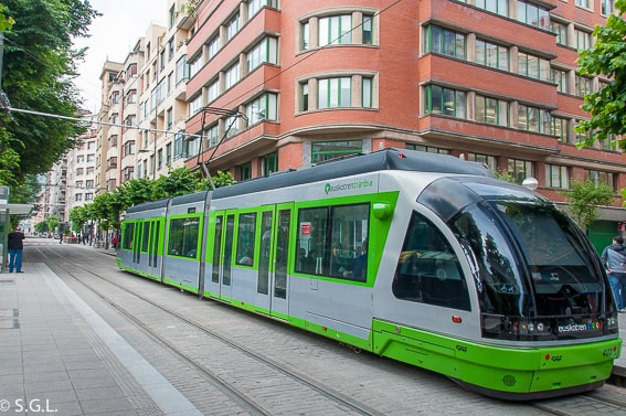 El tranvia de Bilbao