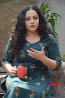 Nithya Menon promotes her latest movie in Green Tight Dress ~  Exclusive Galleries 045.jpg
