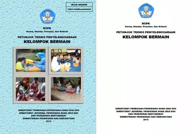 Juknis Penyelenggaraan Kelompok Bermain (KB)