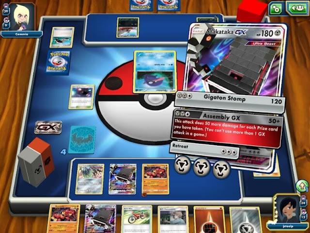 Daftar Game Pokemon Resmi (Buatan Official) Untuk Android - Pokemon TCG Online