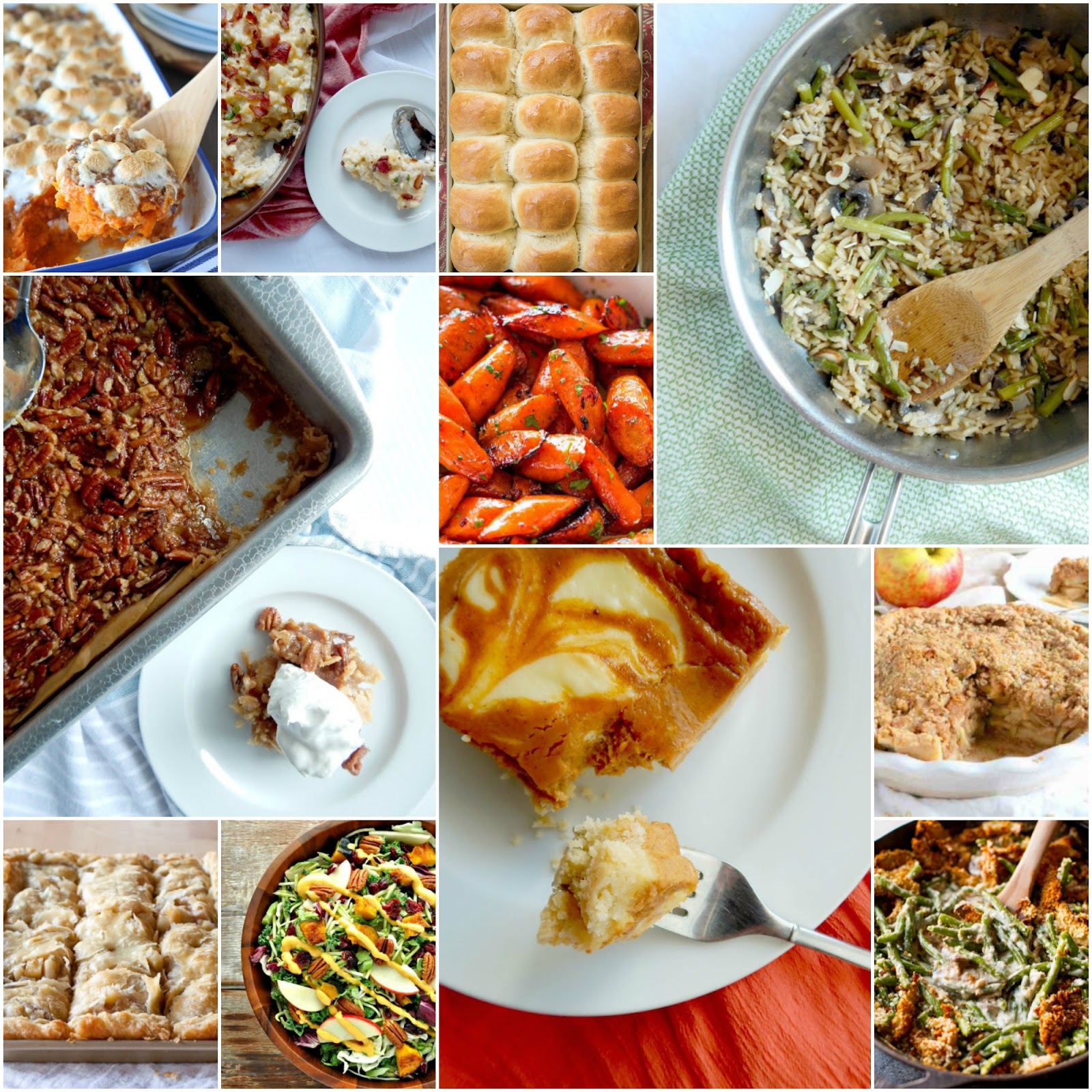Ally's Sweet & Savory Eats: 30 Side Dishes & Desserts For