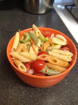 Top Notch Mom: Easy Pasta Salad