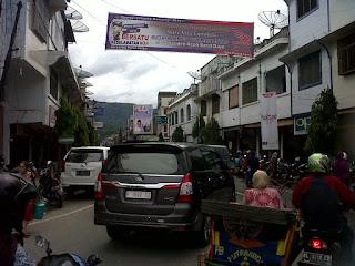 H-2 Lebaran, Kota Blangpidie Macet