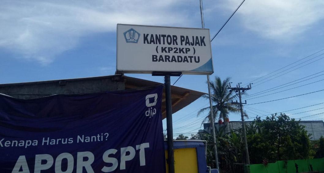 Tiga Pegawainya Reaktif Covid19, Kantor Pajak Pratama Baradatu Tutup