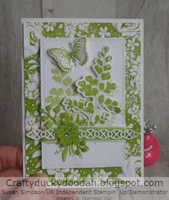 Craftyduckydoodah!, Kre8tors Blog Hop, Positive Thoughts, Colour Challenge, Susan Simpson UK Independent Stampin' Up! Demonstrator, Supplies available 24/7 from my online store, Spring / Summer 2020,