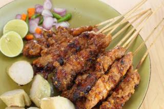 Resep Sate Ayam Bumbu Rendang