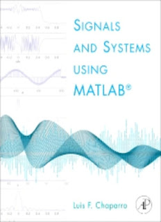 Signals and Systems using MATLAB 1st Edition