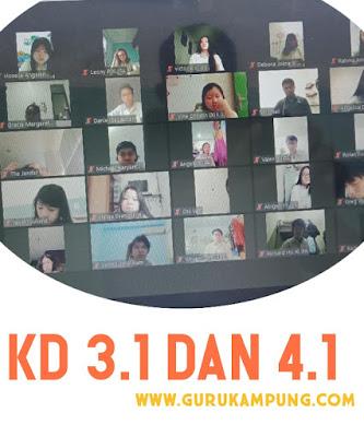 Silabus Bahasa Indonesia Home Learning: Kompetensi Dasar 3.1 dan 4.1
