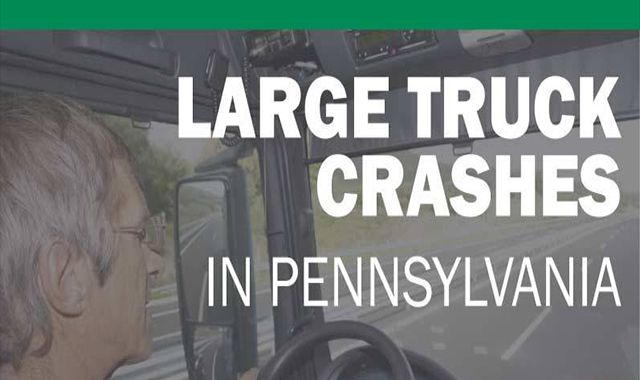 Greater Pennsylvania truck crash #infographic