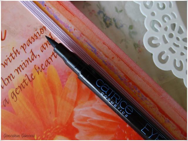 Catrice Waterproof Eyeliner Pen //  Siyah