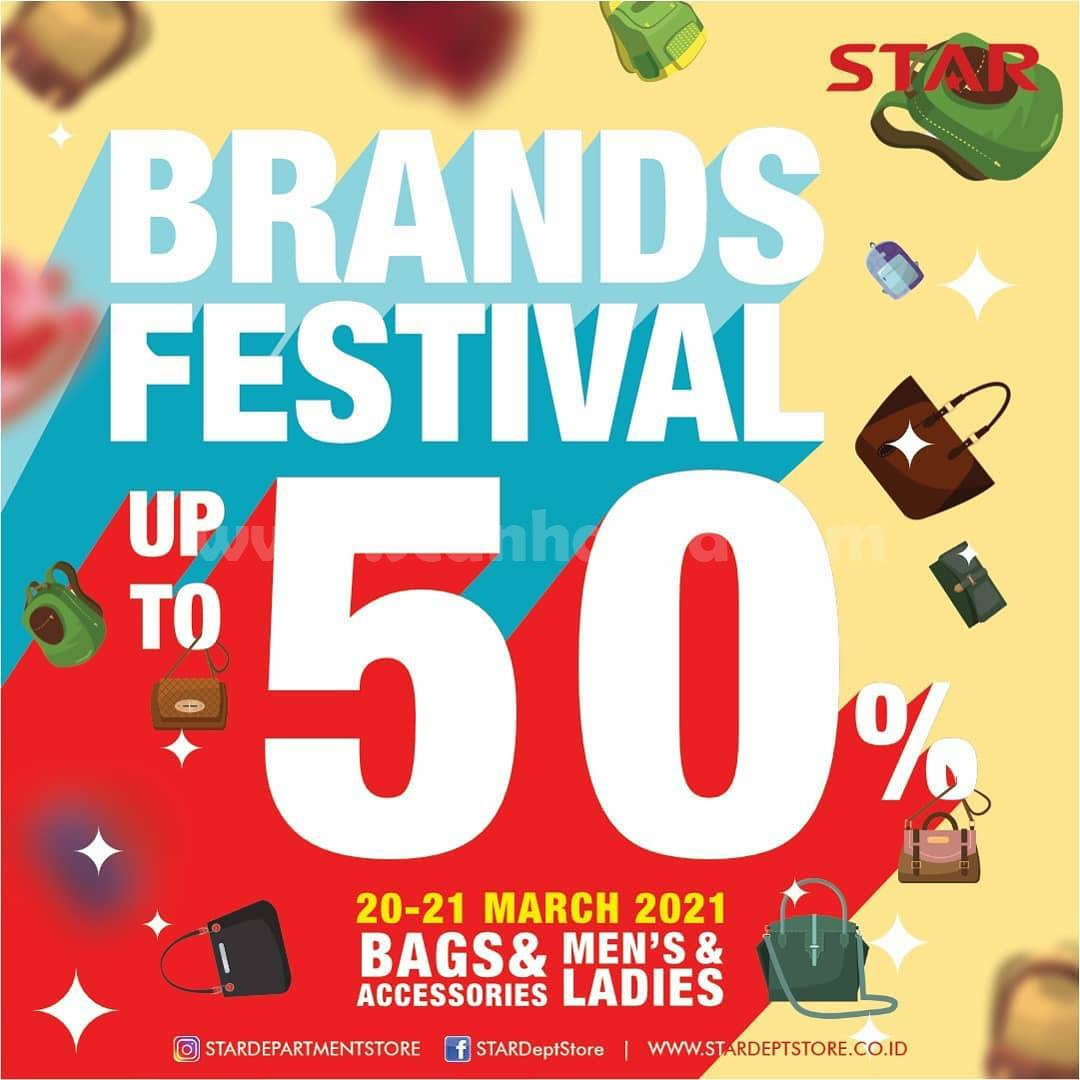STAR DEPARTMENT STORE Weekend Sale! Brands Festival up to 50% off