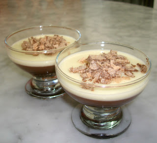 Puding Lembut Coklat - Silky Pudding Chocolate