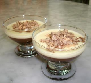 Puding Lembut Coklat - Silky Pudding Chocolate