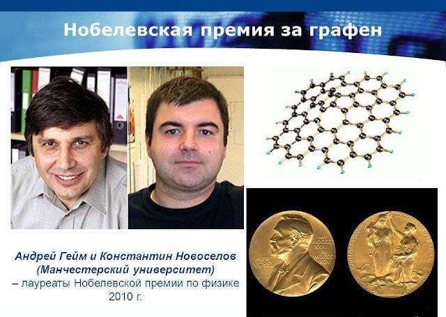 Нобелевская премия за графен