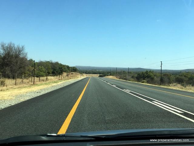 carreteras en sudáfrica
