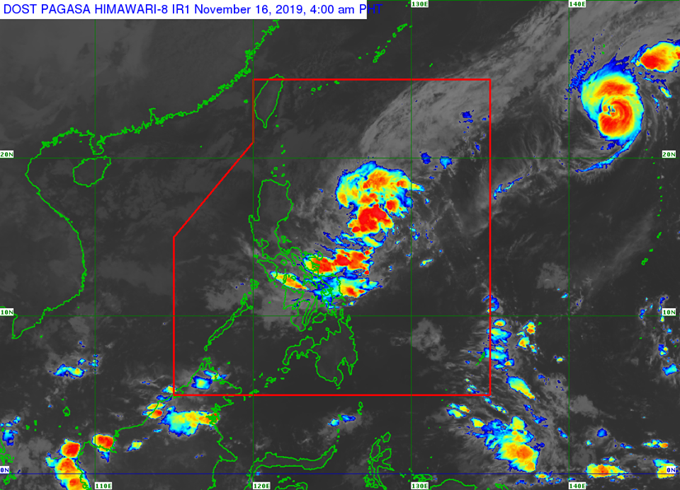 'Bagyong Ramon' PAGASA weather update November 16, 2019