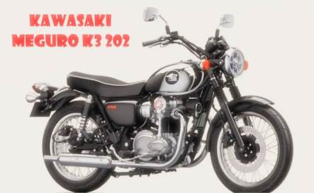 Come back Again Kawasaki Meguro K3 2021