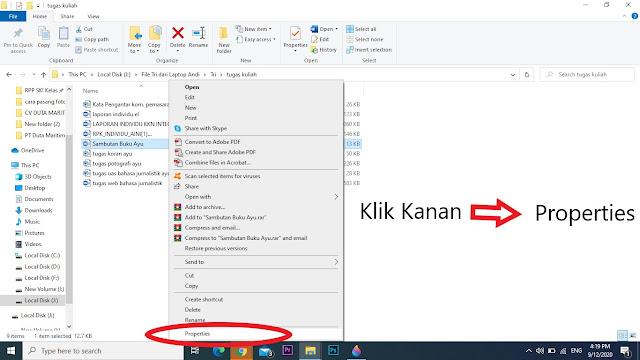 Tugas Hasil Contekan Copy Pate di Microsoft Word