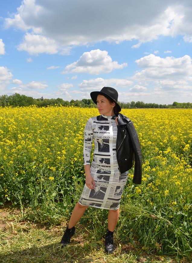 Femme Luxe Finery Dress, @adrianastyle_stylist, www.adriana-style.com, sukieka gazeta, ramoneska, ciężkie buty