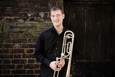 Trombonist Peter Moore (Photo Kaupo Kikkas)