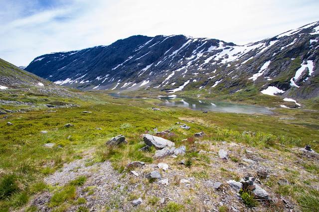 Strada verso il monte Dalsnibba